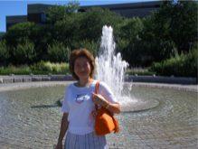 B長女のニューヨークの大学キャンパス(変換後)